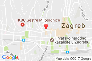 Google Map of Ilica 68, 10000 Zagreb