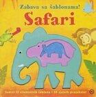 Safari zabava sa sablonama