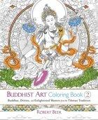 Buddhist art coloring book 2