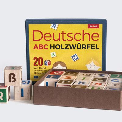 Drvene kocke njemacka slovarica