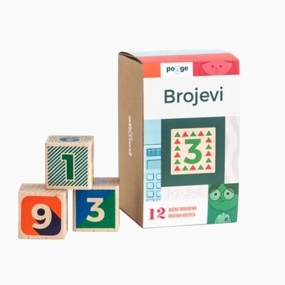 Drvene kocke brojevi