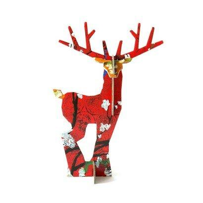 Pop out čestitka i ukras jelen