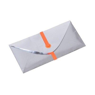 Essential torbica pismo za dokumente srebrna