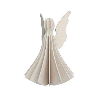 Lovi drveni anđeo bijeli