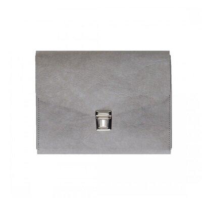 Essential pismo torba za dokumente siva