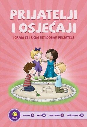 Bojanka prijatelji i osjcaji 2 izdanje