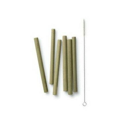 Bambu slamke od bambusa kratke 6 kom 1