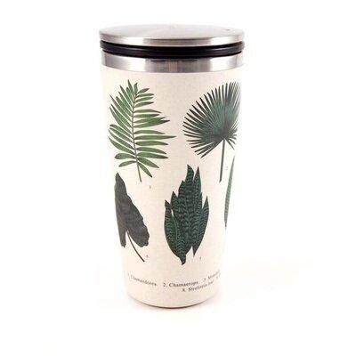 Čaša od bambusa s kliznim poklopcem botanic