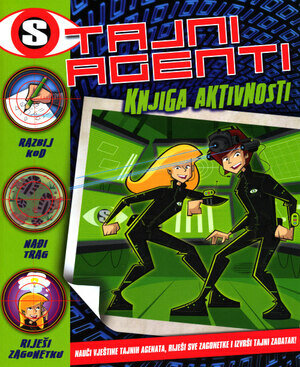 Tajni agenti knjiga aktivnosti