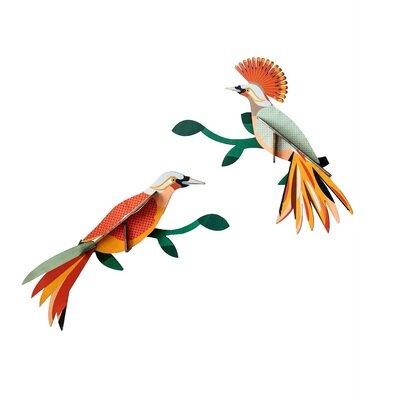 Zidni dekor rajska ptica obi