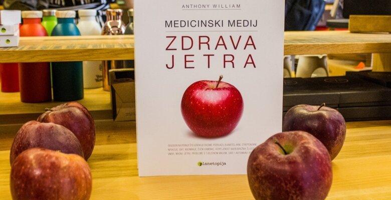 Zdrava jetra medicinski medij