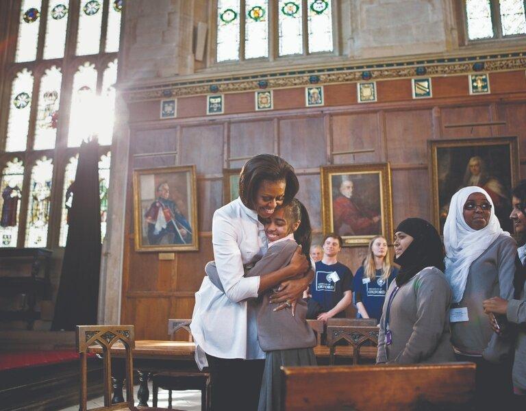 Michelle obama na sveučilištu oxford