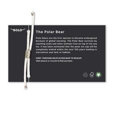 Eko narukvica bold polar bear 2