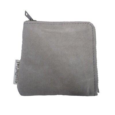 Novčanik s patentnim zatvaračem mali sivi