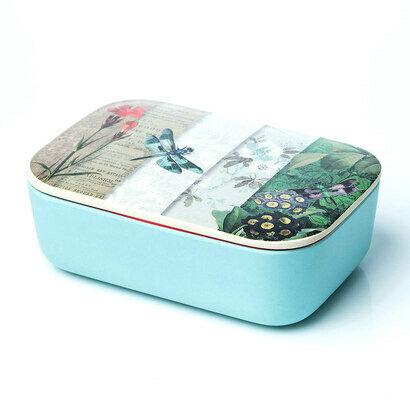 Lunchbox classic kutija za ručak dragonfly collage 1