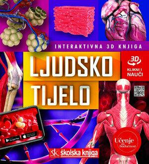 Ljudsko tijelo interaktivna 3d knjiga