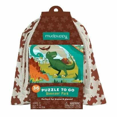 Puzzle to go dinosauri