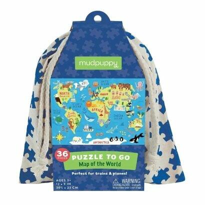 Puzzle to go karta svijeta