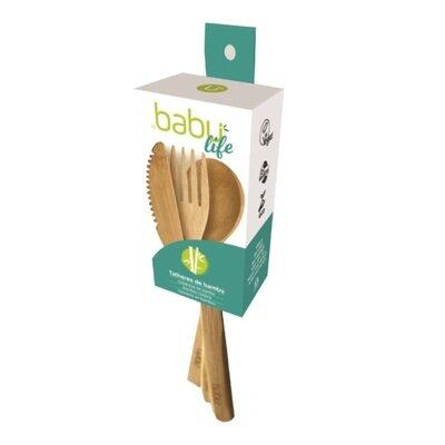 Babu  pribor za jelo od bambusa