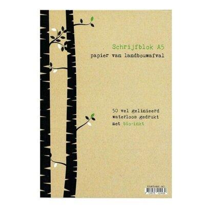 Eko bilježnica a5 s crtama drvce