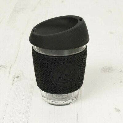 Neon kactus glass cup 340ml rock star black (1)