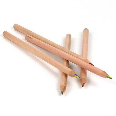 70706 4 in 1 color pencil rainbow round 1 piece