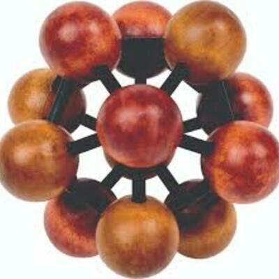 Atom puzzle 3
