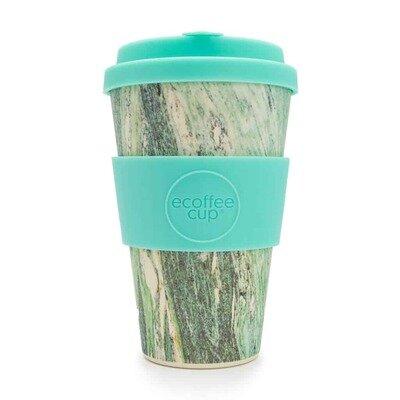 Šalica od bambusa 400 ml marmo verde