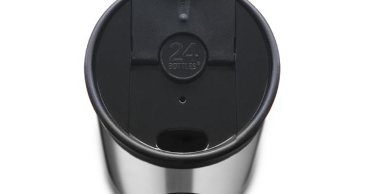 Termos šalica 24bottle tuxedo black 350 ml 2