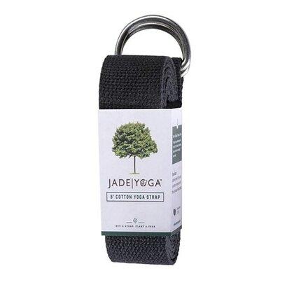 Jade remen za jogu black 244cm