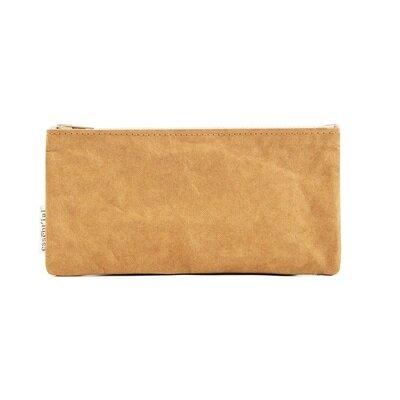 Novčanik s patentnim zatvaračem veliki smeđi