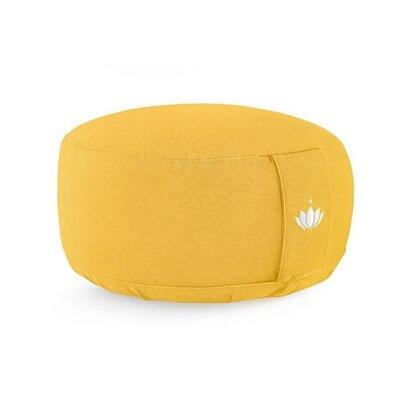 Jastuk za meditaciju 15 cm žuti
