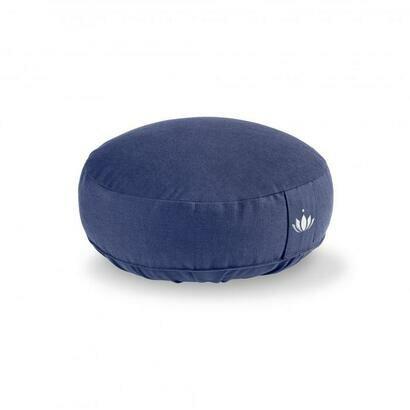 Jastuk za meditaciju 10 cm tamno plavi