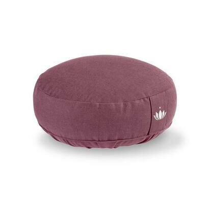 Jastuk za meditaciju 10 cm ljubicasti