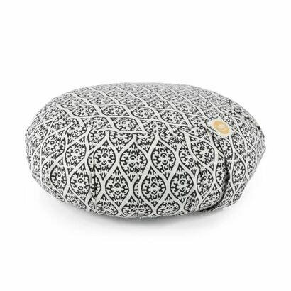 Jastuk za meditaciju 10 cm zen crni