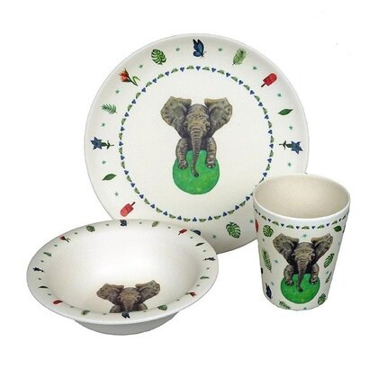 Set od bambusa zuperzozial elephant