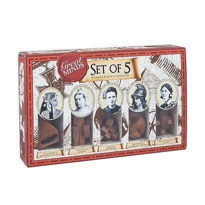 Drvena igra mini puzzle women set
