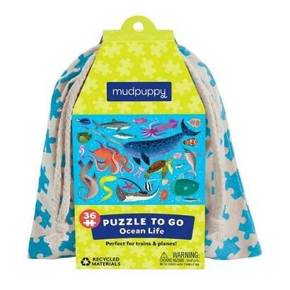 Puzzle to go ocean