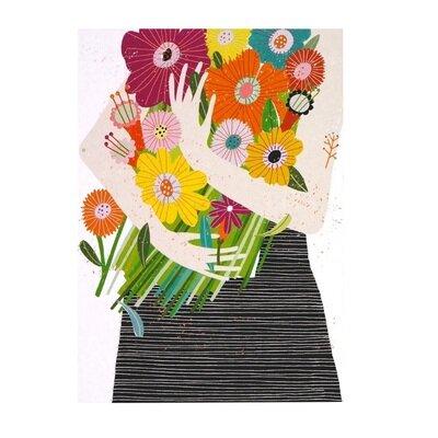 Razglednica bouquet in arms