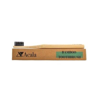Četkica za zube od bambusa s čekinjama od ugljena acala