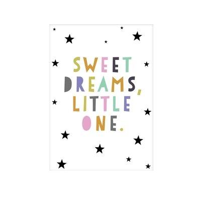 Dječji poster sweet dreams little one