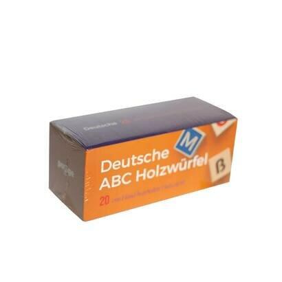 Drvene kocke njemacka slovarica meko pakiranje