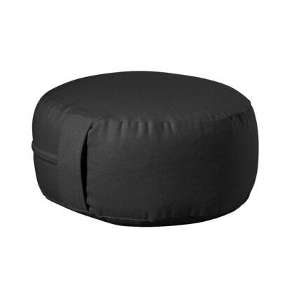 Jastuk za meditaciju okrugli mini antracit