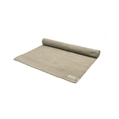 Tepih prostirka za jogu od organskog pamuka tulasi zelena