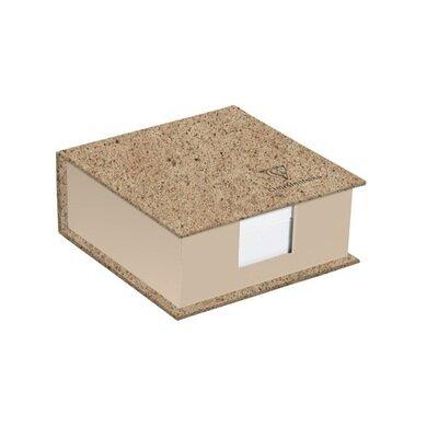 Blok papira od kakaa 320 listova 11 x 11 x 5 cm