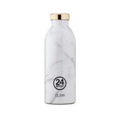 Termos boca 24bottle carrara 500 ml