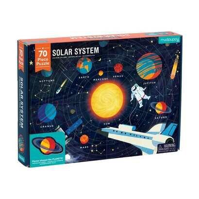 Puzzle solarni sistem 70 kom