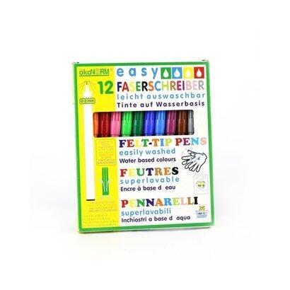 Eko flomasteri 2mm 12 boja
