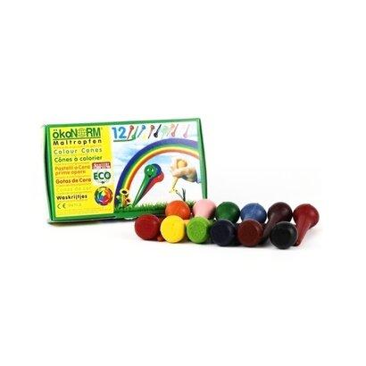 Eko voštane boje stošci 12 boja