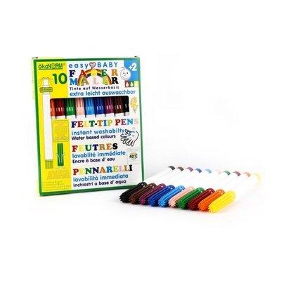 Eko flomasteri 5mm 10 boja